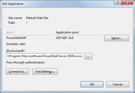 PowerShell ASP: Hosting PowerShell ASP in IIS