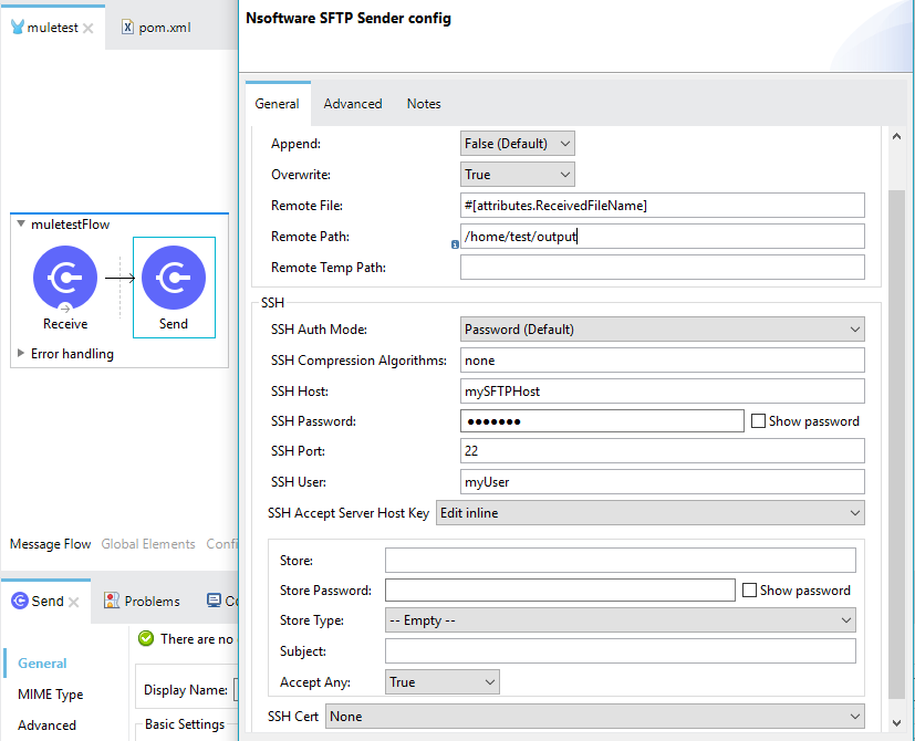 Getting started with the SFTP Connector for MuleSoft
