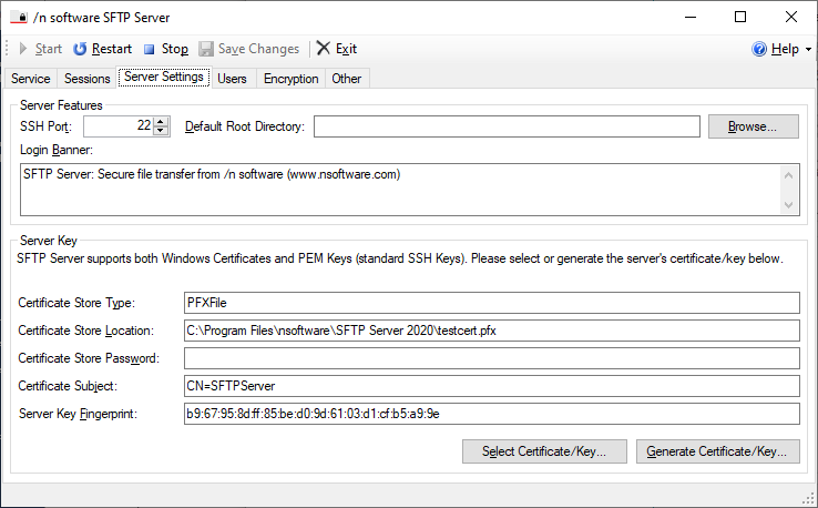 Getting Started With Sftp Server