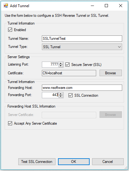 PowerShell Server: Getting started with SSL Tunnels